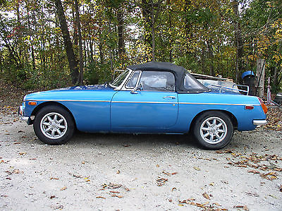 MG : MGB 2-door 1973 mgb convertible