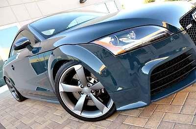 Audi : TT VERY RARE SUPER LOADED MSRP $71k PRISTINE CAR TT RS 2.5 TFSI Quattro MT6 Coupe Tech Pkg Titanium Sport Exhaust Heated Seats NR