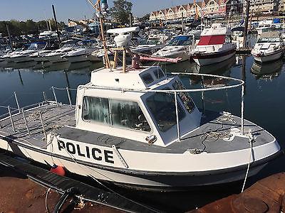 32' Aluminum Work Boat Ex Patrol Boat *Needs Work*