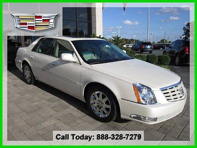 Cadillac : DTS Premium Collection Certified CPO Certified Heated Cooled Leather Navigation Sunroof Wood Trim Flex Seating
