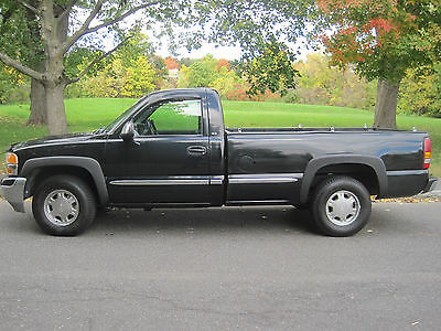 GMC : Sierra 1500 SLE Standard Cab Pickup 2-Door GMC 4X4 SLE Pickup Low miles new tires Remote start runs and drives excellent