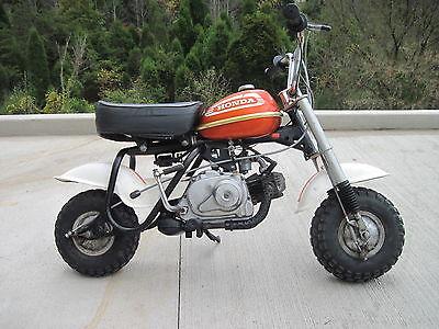 Honda : Other Vintage 1974 Honda QA50 K2 Monkey Bike  Runs Great!!  MUST SEE!!