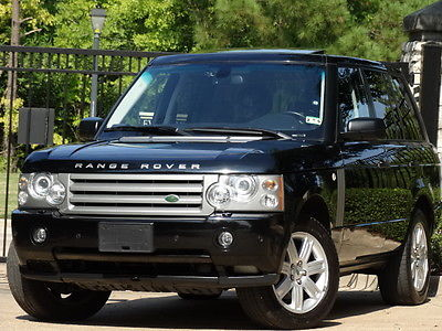 Land Rover : Range Rover HSE Sport Utility 4-Door 2008 land rover range rover hse luxury pkg wood pkg navigation serviced