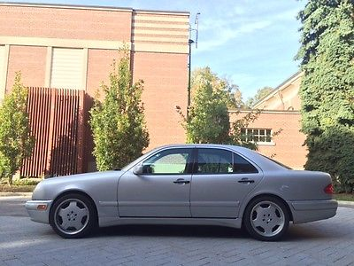 Mercedes-Benz : E-Class AMG 1999 mercedes benz e 55 sedan 205 km s serviced and in great shape 349 bhp