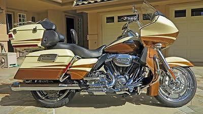 Harley-Davidson : Touring 2011 harley davidson fltruse road glide ultra cvo 37 k easy touring miles