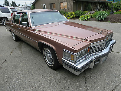 Cadillac : DeVille d Elegance 1979 cadillac sedan deville