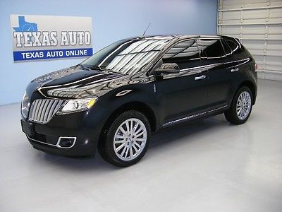 Lincoln : MKX MK X M KX WE FINANCE!!!  2012 LINCOLN MKX AWD PANO ROOF NAV HEATED LEATHER BSM TEXAS AUTO