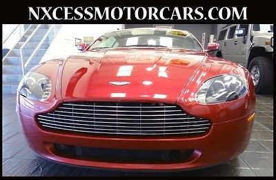 Aston Martin : Vantage COUPE NAVIGATION LOADED JUST 12K MILES!!! ONE OWNER EXCELLENT CONDITION CLEAN CARFAX EXTRA CLEAN!!