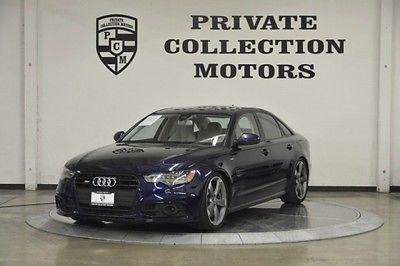 Audi : S6 Base Sedan 4-Door 2014 audi s 6 prestige msrp 81 k 1 owner clean carfax