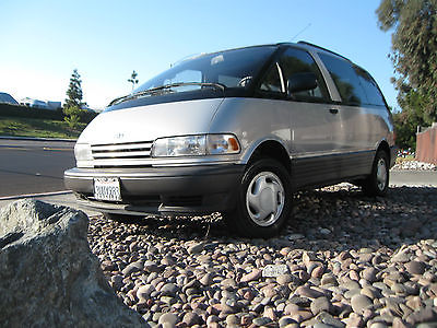 Toyota : Previa LE 1997 toyota previa le awd 2.4 l 4 cyl 1 owner only 133 k 4 wd supercharger