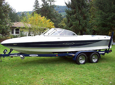 2006 Tige 21i Limited Crossover Wakeboard Boat