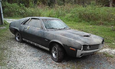 AMC : AMX 2DR 1970 amc amx barn find project