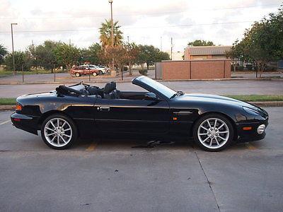 Aston Martin : DB7 Vantage Volante Convertible 2-Door 2002 aston martin db 7 vantage volante convertible 2 door 6.0 l