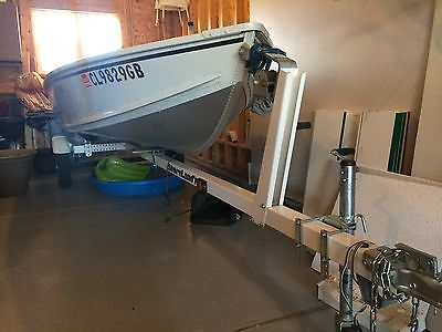 NEW UNUSED 2005 Alumacraft boat, Motor and Trailer with many  new accessories