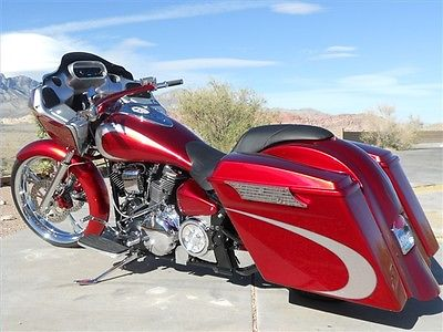 Yamaha : Road Star CUSTOM Yamaha Road Star 102ci. motorcycle bike bagger HD road glide fairing
