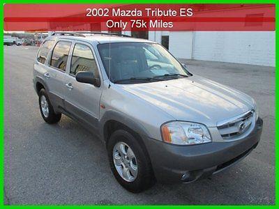 Mazda : Tribute ES V6 2002 es v 6 used 3 l v 6 24 v automatic 4 wd only 75 k miles 1 owner clean carfax