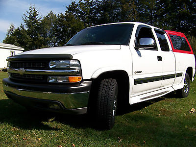 Chevrolet : Silverado 2500 LS Extended Cab Pickup 3-Door 1999 chevy silverado 2500 ls ext cab 6 ltr low milage beautiful condition towing