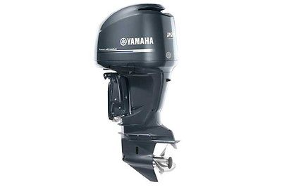 Yamaha F225XA V6 Outboard Engine