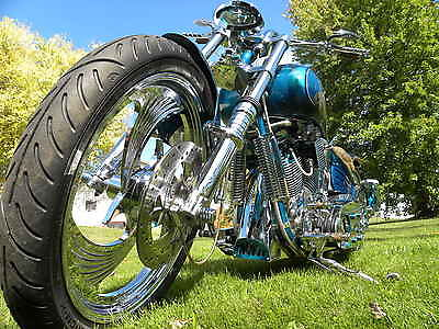 Custom Built Motorcycles : Other 1998 softail custom ratster ed tooley predator
