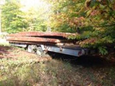 Wisconsin TagFlatbed Trailer