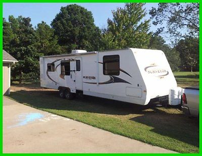 2012 Forest River Surveyor SV301 36ft Travel Trailer 2 Slide Outs A/C Insulated