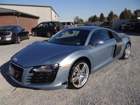 Audi : R8 2dr Cpe Man Clean title, Repairable Salvage, 10k miles, good airbags, Wholesale