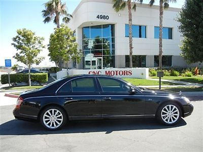 Maybach : 57S S 2006 maybach 57 s 57 s black 1 owner serviced export ok price reduced