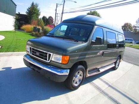 Ford : E-Series Van E-150 PREMIU GREAT PREMIUM HIGH TOP CONVERSION VAN!ONLY 55k MILES !JUST SERVICED! WARRANTY!04