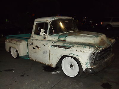 Chevrolet : C-10 Step Side 3200 1955 1956 1957 1958 1959 chevy pickup step side shortbed truck 3200 3100 patina