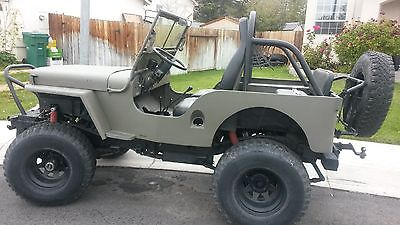Willys : CJ  custom Willys 1947 CJ2A