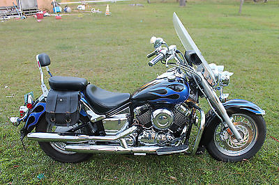 Yamaha : V Star 2003 yamaha 650 v star very low mileage