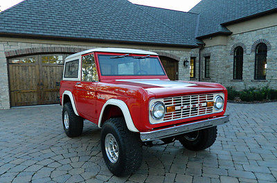 Ford : Bronco EARLY BRONCO 1969 ford early bronco power steering and disc brakes automatic mint pics inside