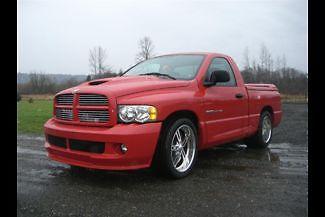 Dodge : Ram 1500 SRT-10 2004 dodge ram srt 10 pickup truck v 10 10 000 miles racing solutions updates