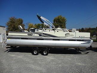 2000 Lowe Suncruiser Trinidad 224 Pontoon Boat.