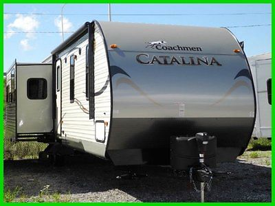 2015 Coachmen Catalina 333RETS New TRAVEL TRAILER REAR LIVING FIREPLACE