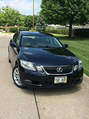 Lexus : GS GS AWD, LOADED,AUTO,WIPERS,LIGHTS, REAR SHADE AWD WINTER READY 2007 Lexus GS350 LOADED 4-Door 3.5L AWD