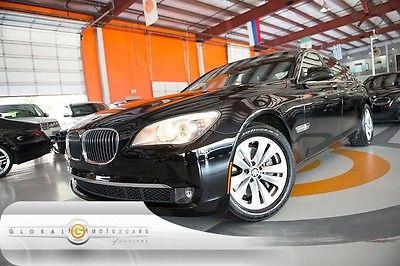 BMW : 7-Series 740Li 12 bmw 740 li 44 k 1 own nav sensors rear cam entry drive heated seats moonroof