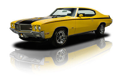 Buick : Skylark GSX Documented 1 of 1 Investment Grade Motion Industries GSX 455 V8 A/C