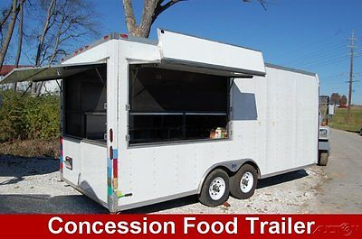 2009 Pace Concession Food Truck Trailer bbq mobile kitchen catering