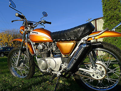 Honda : Other 1970 honda sl 175 ct 70 sl 100 125 350 enduro trail 50 90 110 vintage mx classic