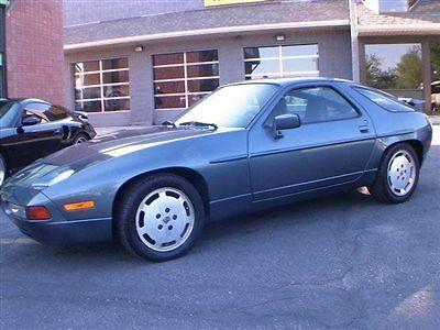 Porsche : 928 928 S4 1987 porsche 928 s 4 rare blue lsd new belts w pump all original condition