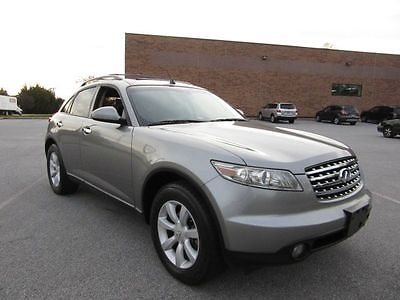 Infiniti : FX FX35 AWD Touring Package 2004 infiniti fx 35 awd only 1 owner infiniti service history carfax certified
