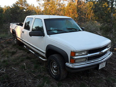 Chevrolet : C/K Pickup 3500 no trim 2000 chevy c k 3500 long bed p u w 350 vortec gas engine