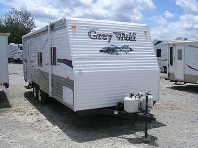 2009 Cherokee Grey Wolf 24 RB Used Travel Trailer