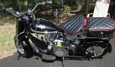 Cushman : EAGLE CUSHMAN MOTOR SCOOTER 1959 BLACK BEAUTY AWESOME