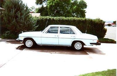 Mercedes-Benz : 200-Series 240D 4 Door Sedan 1974 mercedes benz 200 series 240 d 4 door sedan original owner bought new