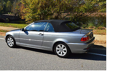 BMW : 3-Series Base Convertible 2-Door 2005 bmw 325 ci base convertible 2 door 2.5 l