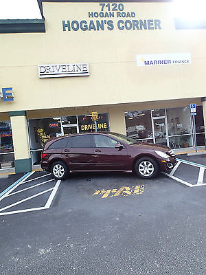 Mercedes-Benz : R-Class AMG 2006 mercedes benz r 350 limited 4 x 4 awd loaded navigation sunroof like new