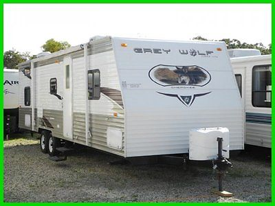 2010 Forest River Cherokee Grey Wolf 28BHG Used BUNKHOUSE GARAGE RV