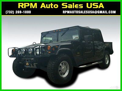 Hummer : H1 Open Top 95 h 1 general top recruit series open top tv 5.7 l v 8 16 v 4 wd suv nj ny pa ct